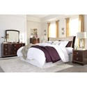 Signature Design by Ashley Lenmara King/California King Bedroom Group - Item Number: B247 K Bedroom Group 3