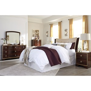 Signature Design by Ashley Lenmara Queen/Full Bedroom Group