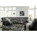 Signature Design by Ashley Leonberg Living Room Group - Item Number: 37902 Reclining Living Room Group