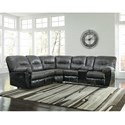 Signature Design by Ashley Leonberg L-Shaped Sectional - Item Number: 3790248+49
