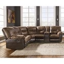 Signature Design by Ashley Leonberg L-Shaped Sectional - Item Number: 3790348+49