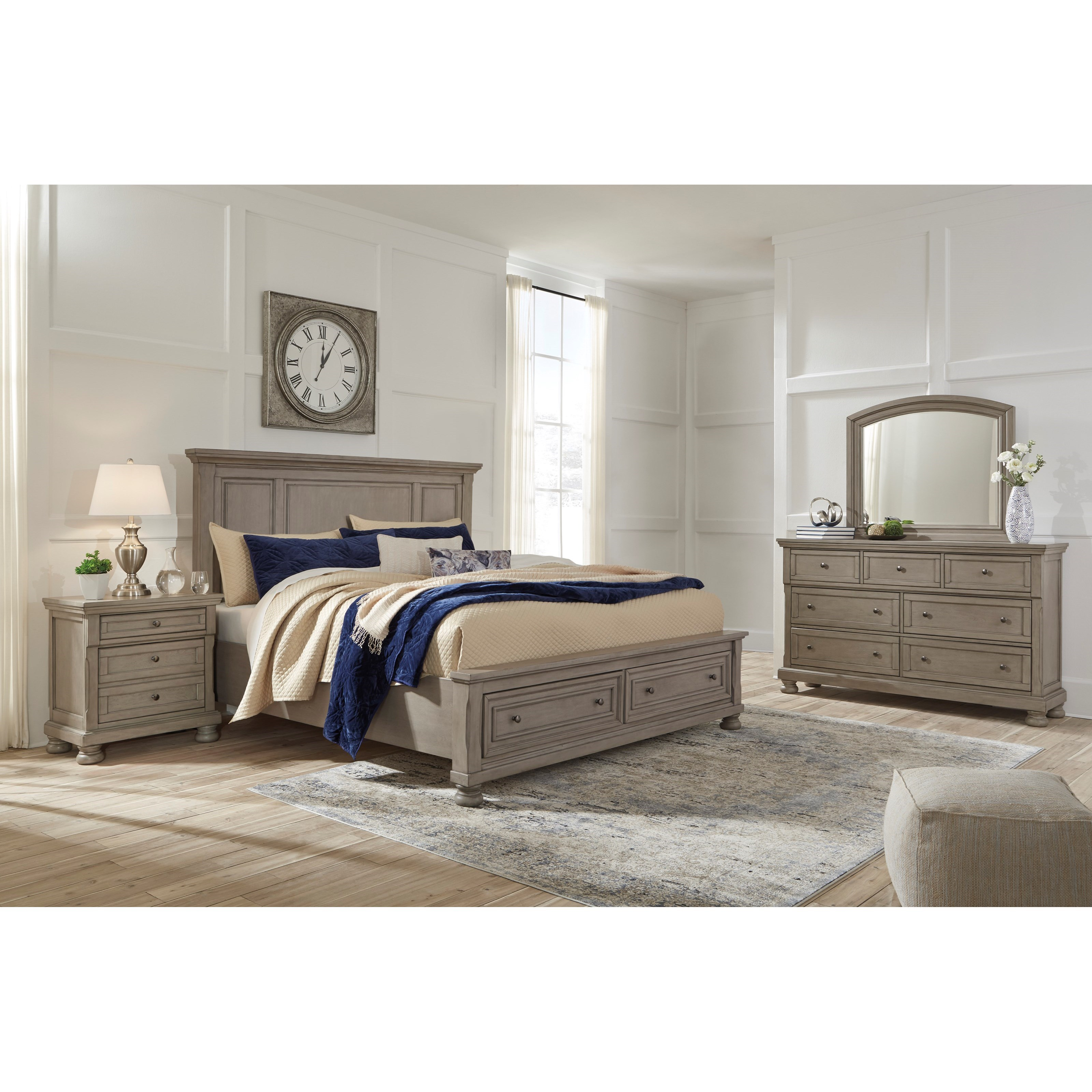 Lettner California King Bedroom Group by Ashley (Signature Design) at Johnny Janosik