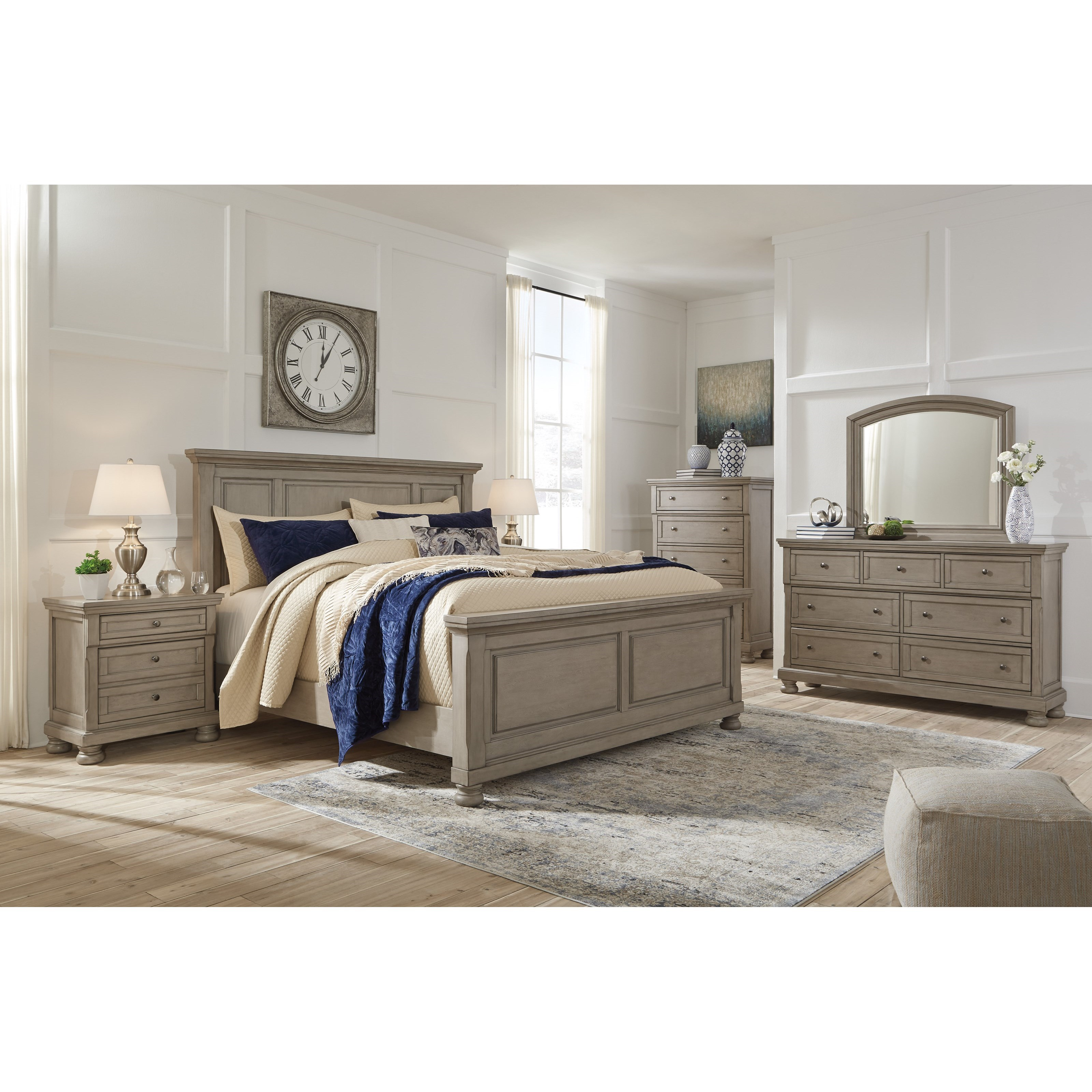 Ashley Home Furniture Bedroom Sets: Signature Design By Ashley Lettner Queen Bedroom Group