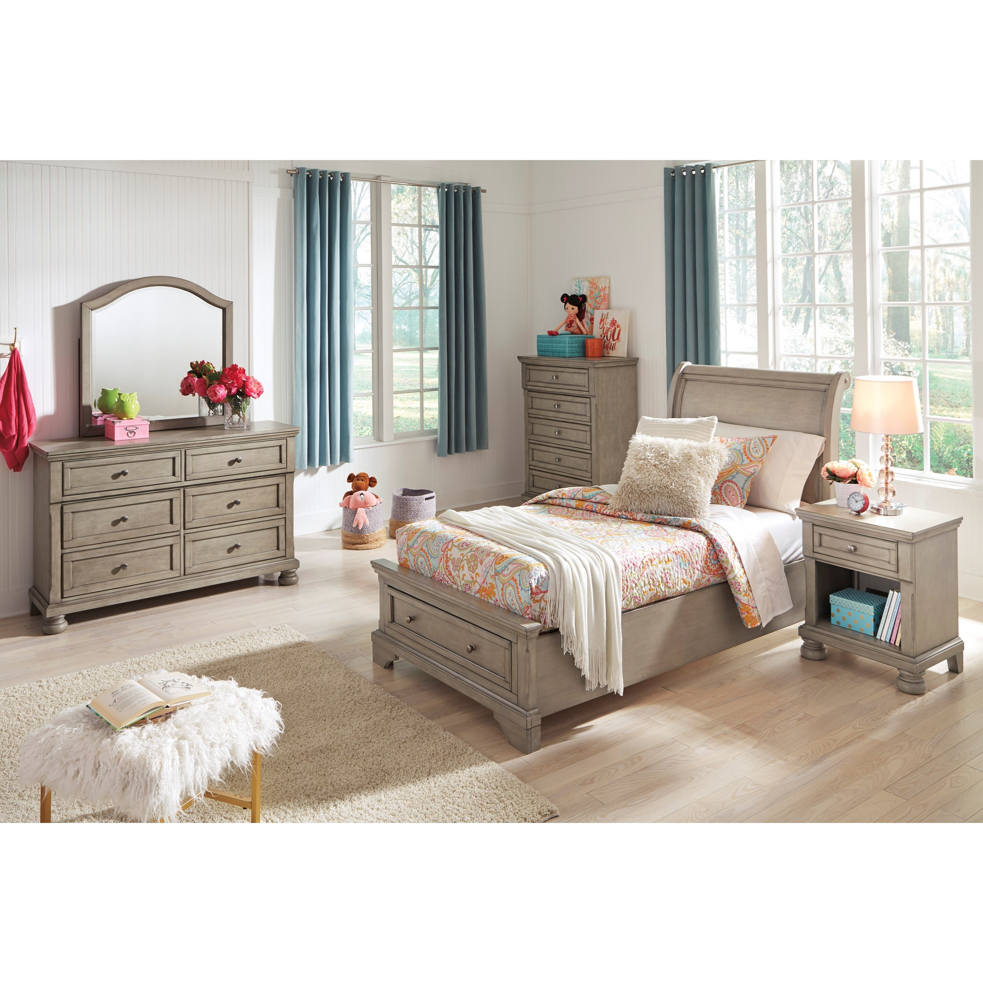 Lettner Twin Bedroom Group by Ashley (Signature Design) at Johnny Janosik