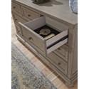 Signature Design by Ashley Lettner Casual Seven Drawer Dresser