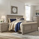 Signature Design by Ashley Lettner Casual Queen Panel Bed - Bed Shown may not represent bed size indicated