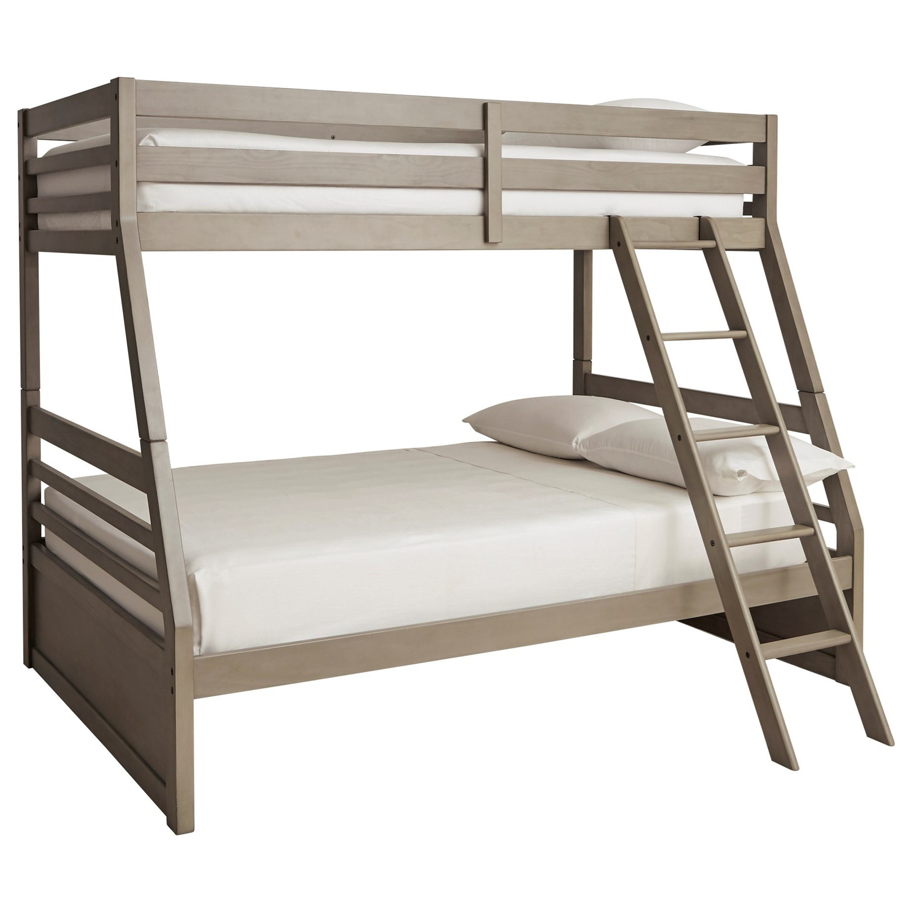 Picture of: Signature Design By Ashley Lettner Twin Full Bunk Bed Standard Furniture Bunk Beds