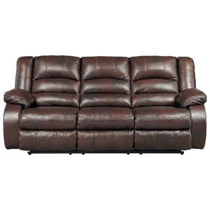 Signature Design by Ashley Levelland Reclining Power Sofa