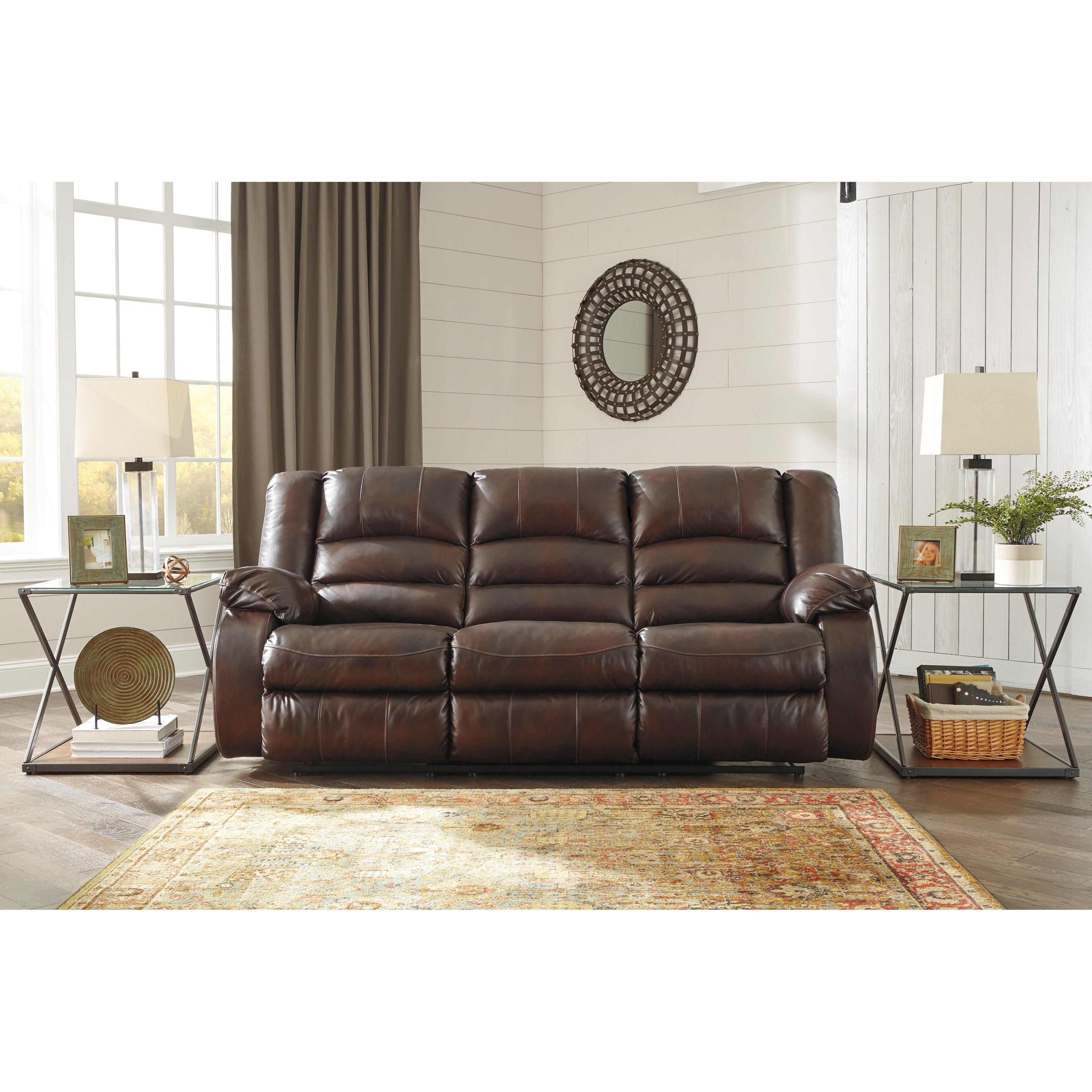 Ashley Furniture Manufacturer: Signature Design By Ashley Levelland Leather Match