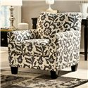 Signature Design by Ashley Levon  - Charcoal Accent Chair - Item Number: 7340321