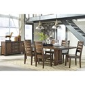 Signature Design by Ashley Leystone Casual Dining Room Group - Item Number: D614 Dining Room Group 1