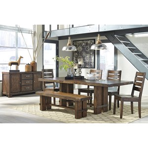 Signature Design by Ashley Leystone Casual Dining Room Group