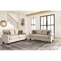 Signature Design by Ashley Lingen Stationary Living Room Group - Item Number: 33002 Living Room Group 1
