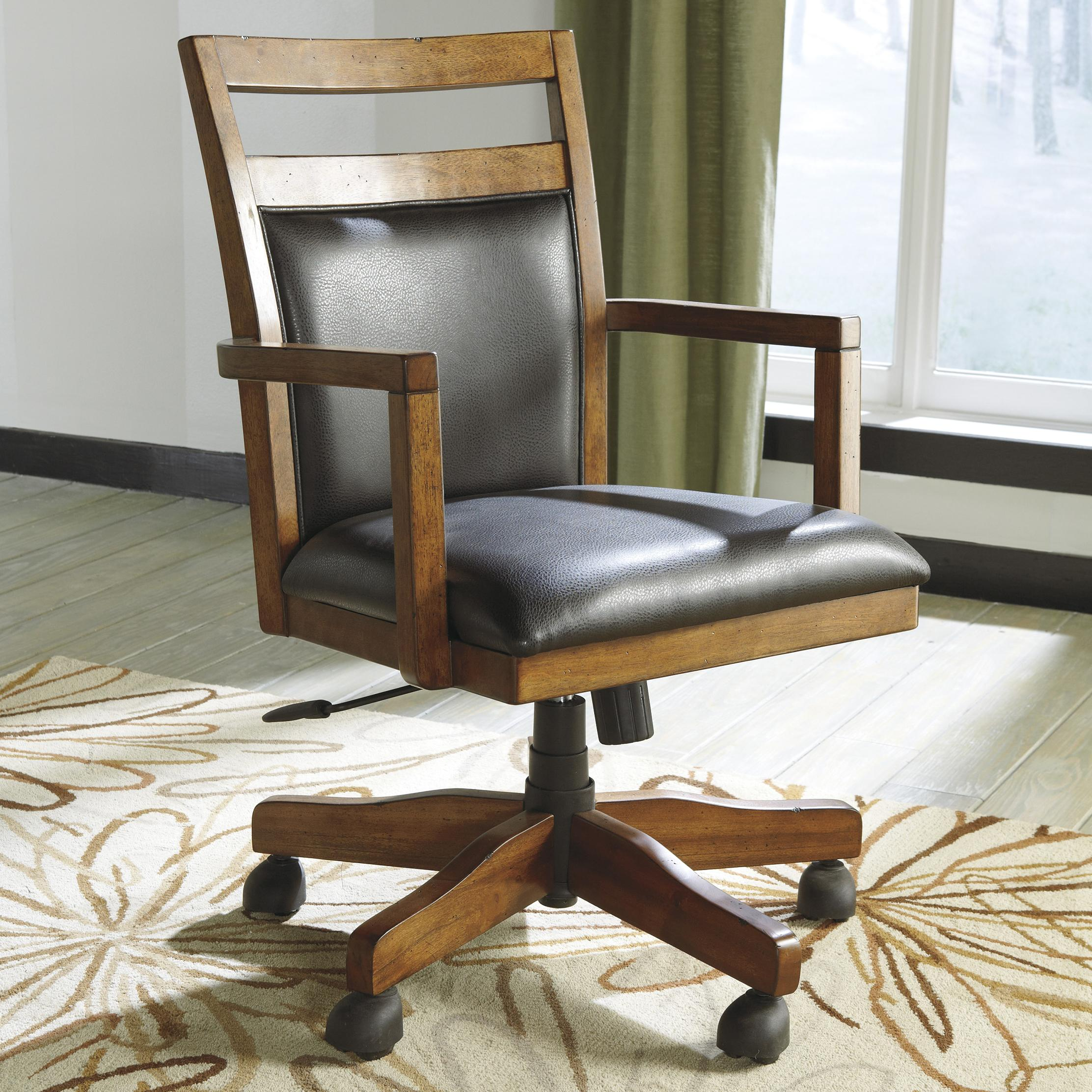 Signature Design by Ashley Lobink Home Office Desk Chair - Item Number: H641-01A