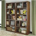 Signature Design by Ashley Lobink 2-Piece Bookcase Set - Item Number: H641-17x2
