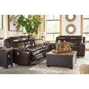Signature Design by Ashley Lockesburg Power Reclining Living Room Group - Item Number: U33601 Living Room Group 2