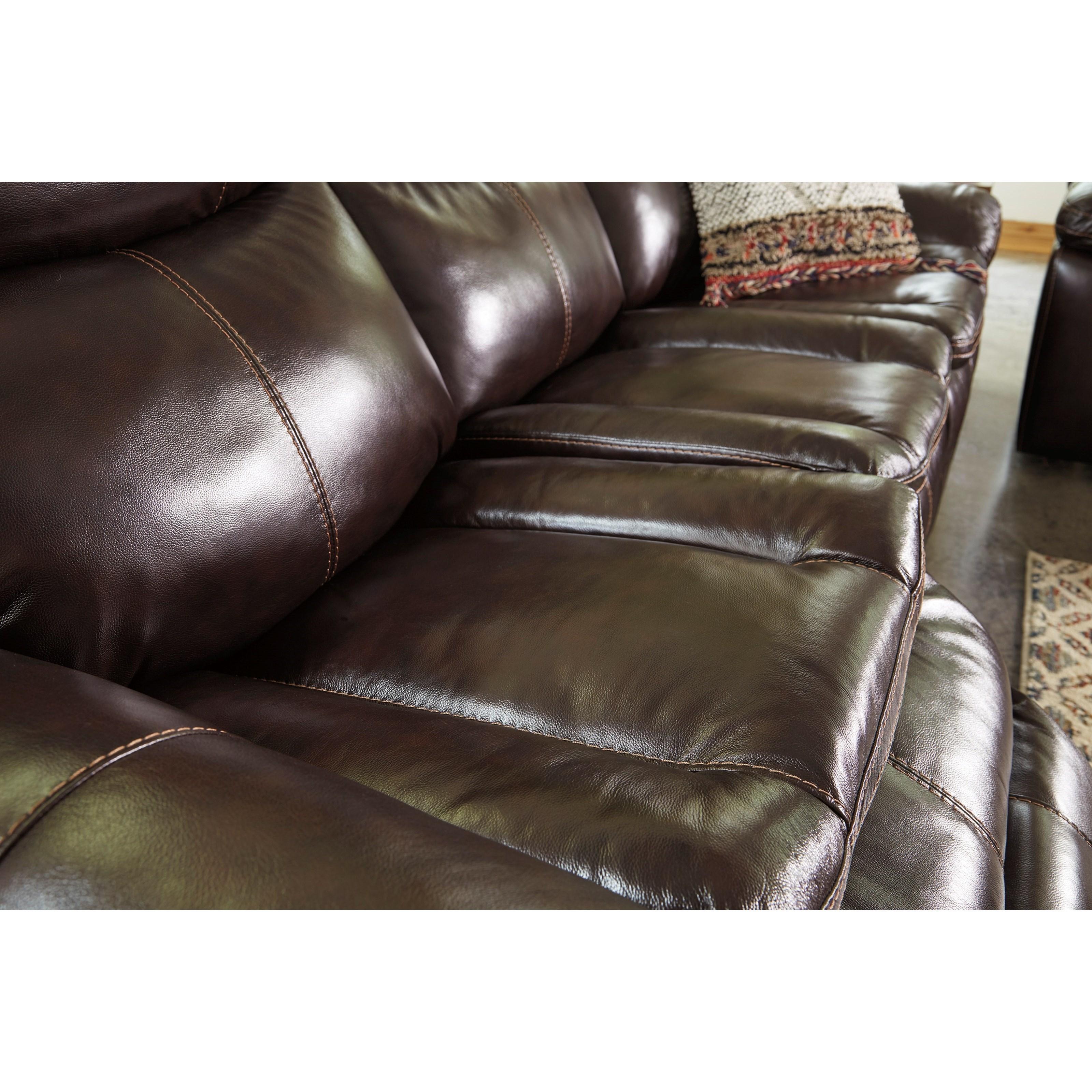 Signature Design By Ashley Lockesburg Reclining Sofa With