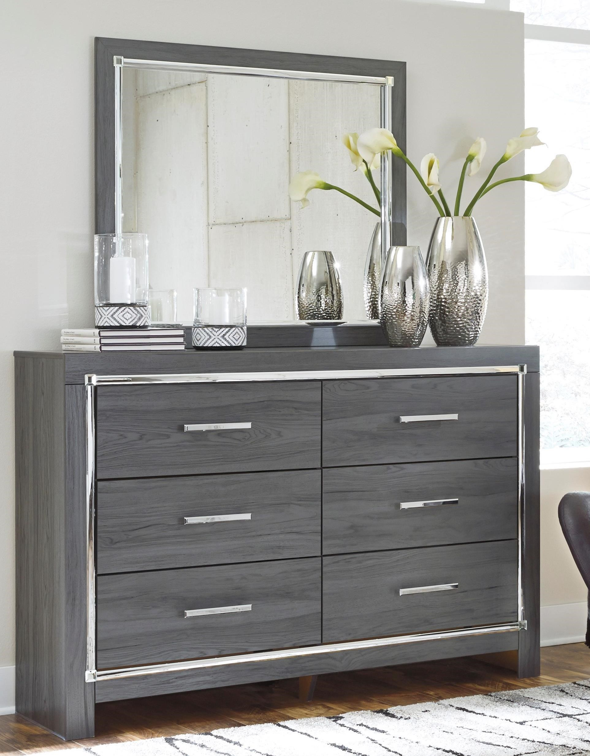 Lodana Dresser and Mirror Set by Signature Design by Ashley at A1 Furniture & Mattress