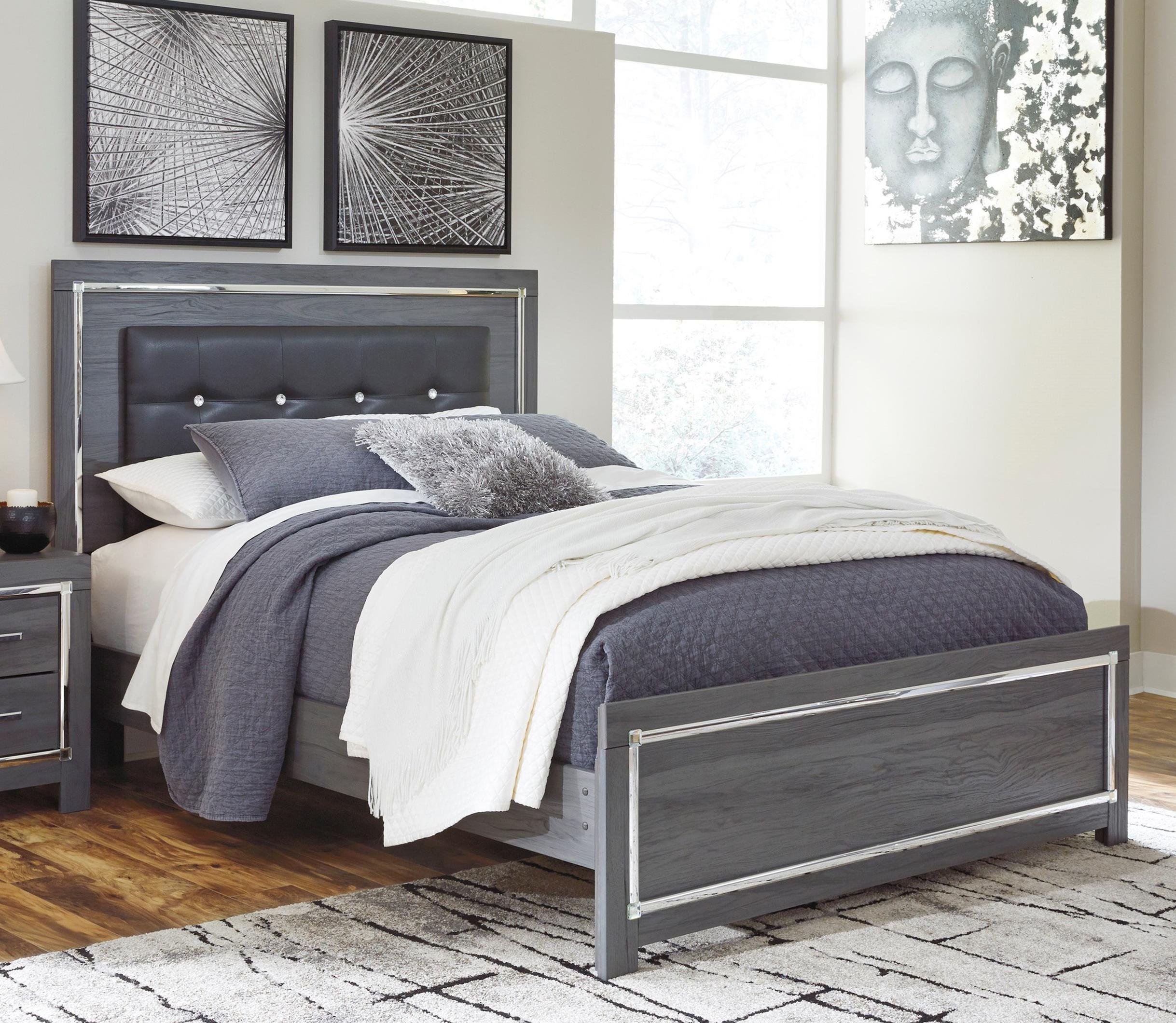 Lodana Full Upholstered Bed by Ashley (Signature Design) at Johnny Janosik