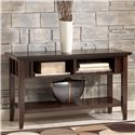 Signature Design by Ashley Logan Sofa Table / Console - Item Number: T160-4