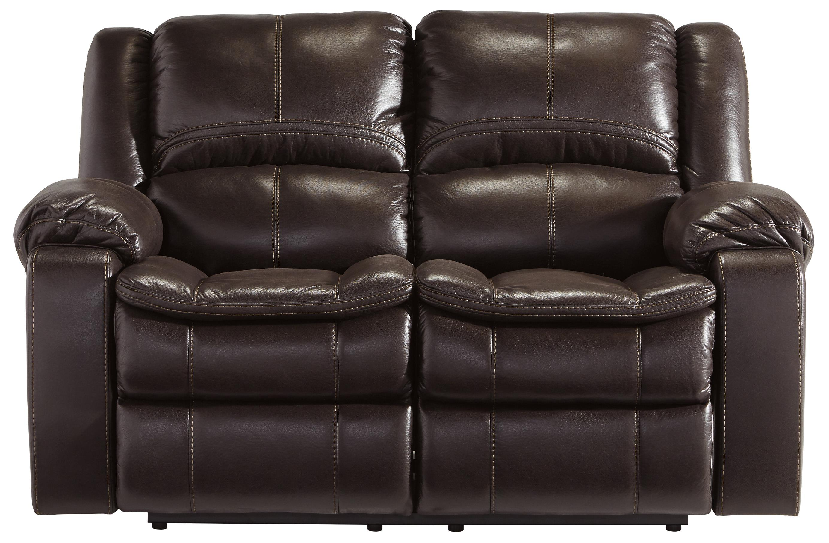 Signature Design by Ashley Long Knight Reclining Loveseat - Item Number: 8890586