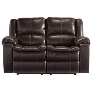 Signature Design by Ashley Furniture Long Knight Reclining Loveseat