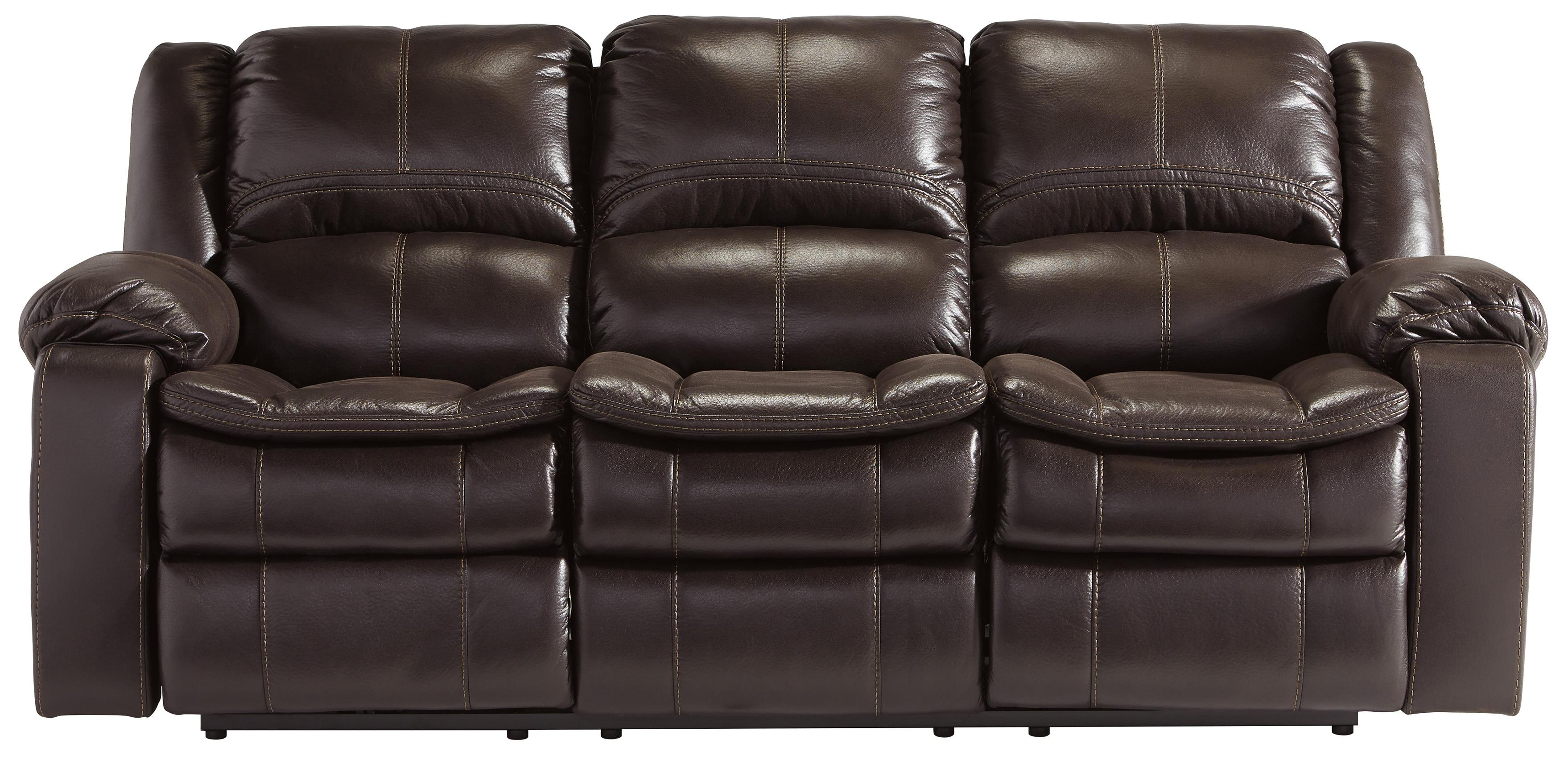 Signature Design by Ashley Long Knight Reclining Power Sofa - Item Number: 8890587