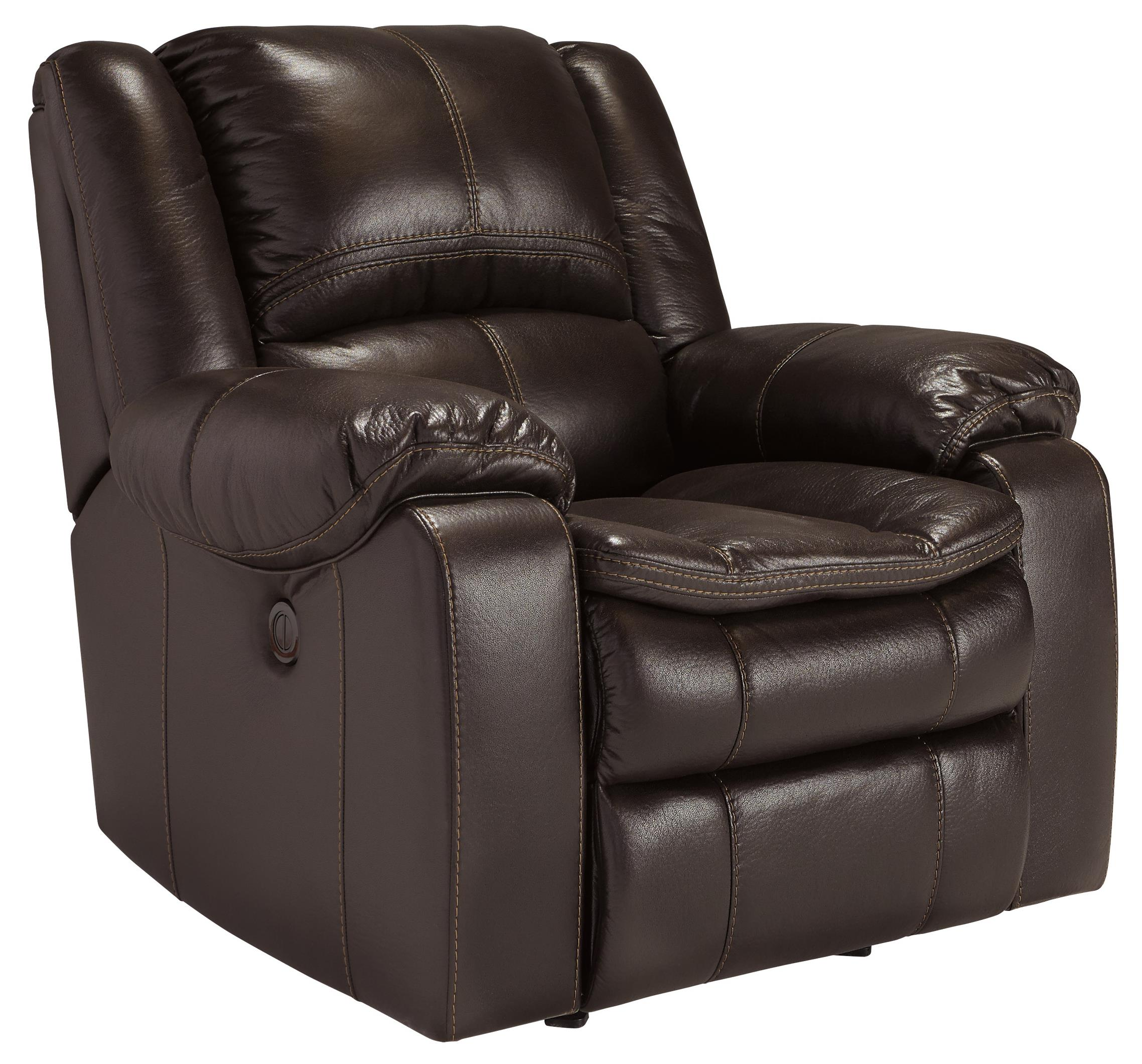 Signature Design by Ashley Long Knight Power Rocker Recliner - Item Number: 8890598