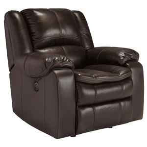 Signature Design by Ashley Long Knight Power Rocker Recliner