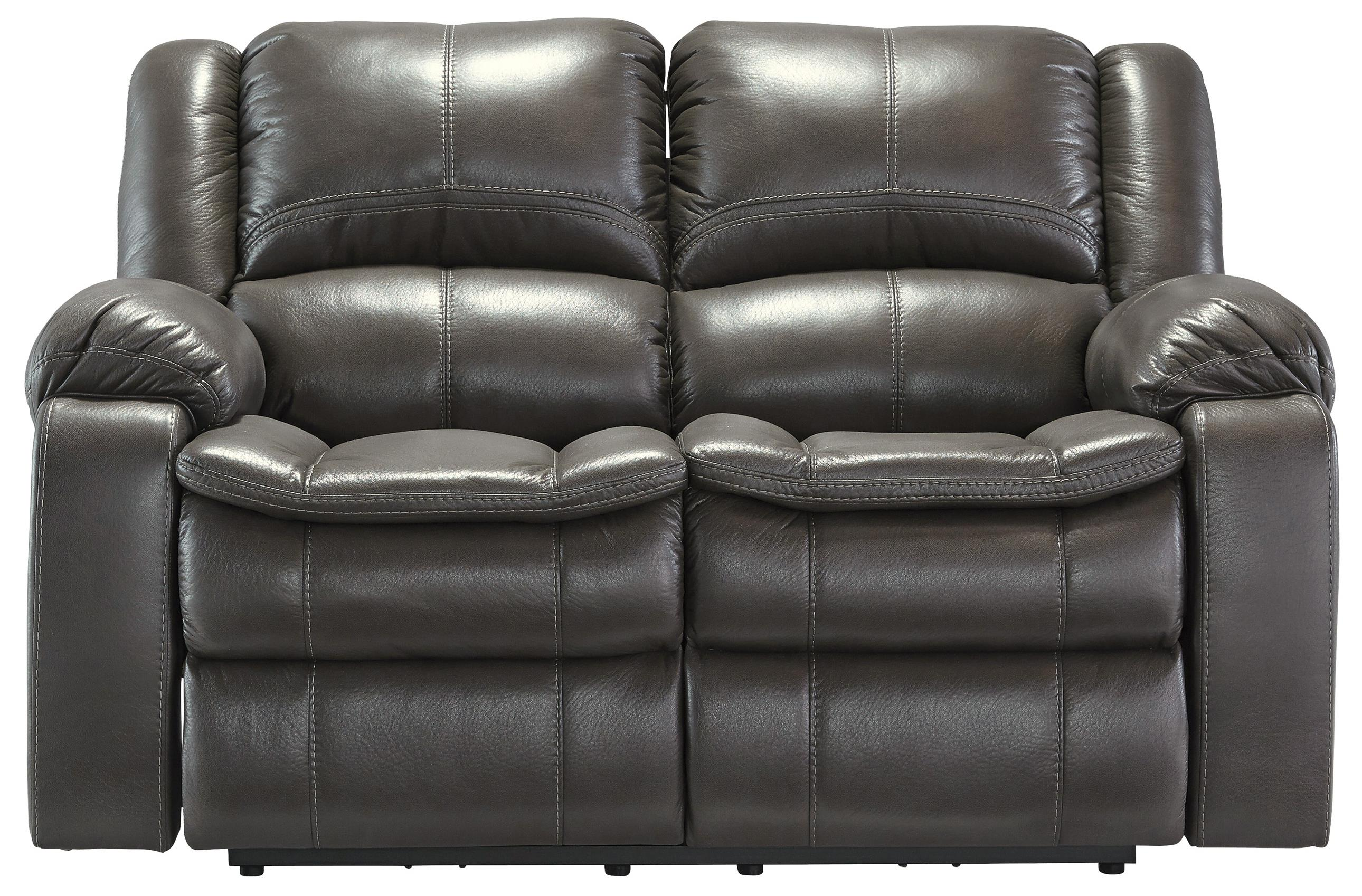 Signature Design by Ashley Long Knight Reclining Power Loveseat - Item Number: 8890674