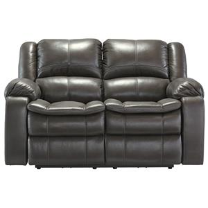 Signature Design by Ashley Long Knight Reclining Loveseat