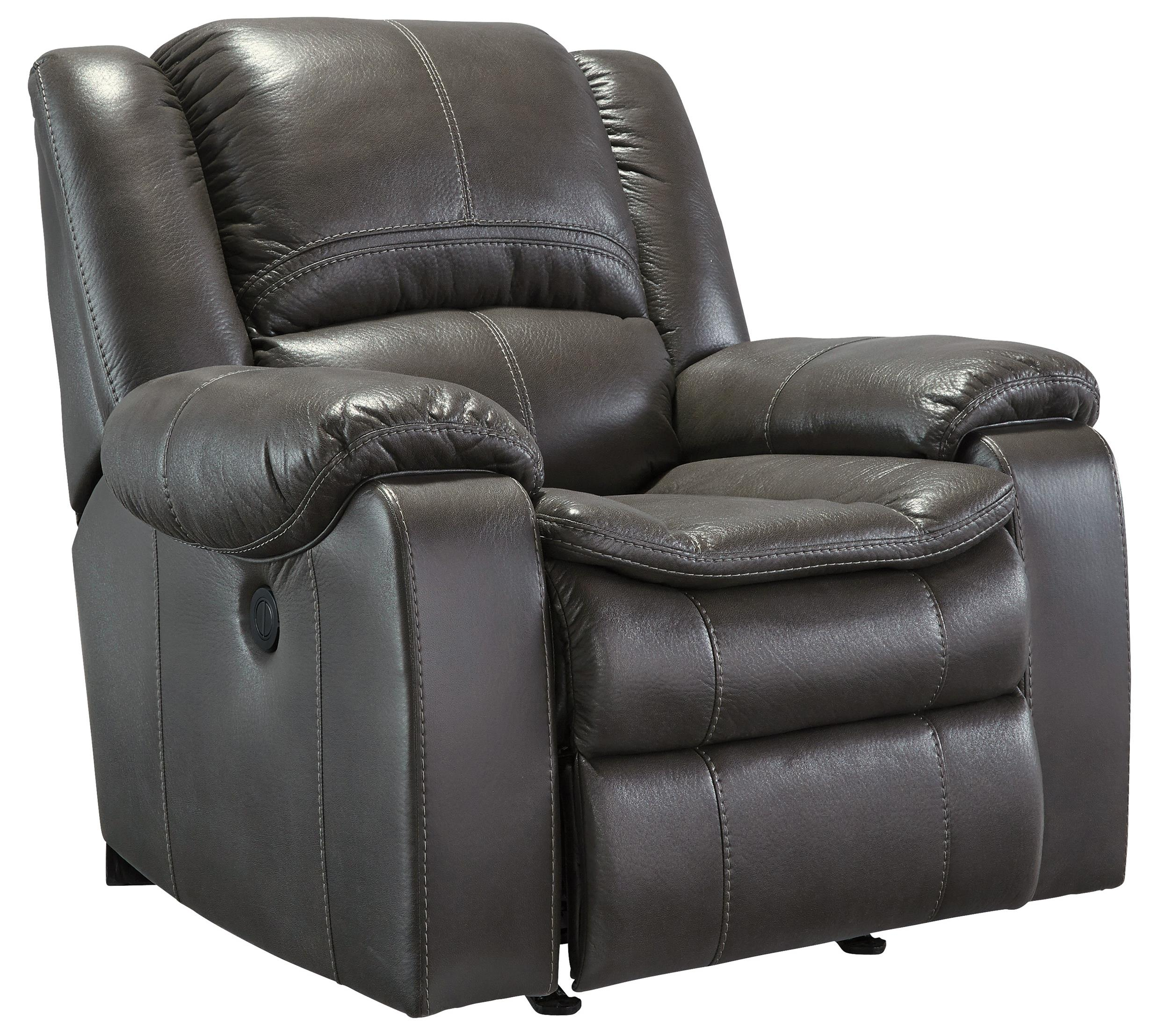 Signature Design by Ashley Long Knight Power Rocker Recliner - Item Number: 8890698