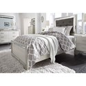 Signature Design by Ashley Lonnix Glam Five Drawer Chest with Mirror Accents