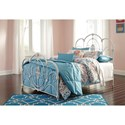 Ashley (Signature Design) Loriday Twin Metal Bed - Item Number: B107-71