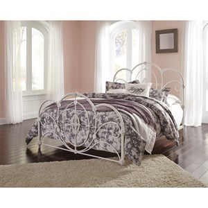 Signature Design by Ashley Loriday Queen Metal Bed