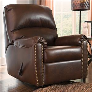 Signature Design by Ashley Lottie DuraBlend® Rocker Recliner