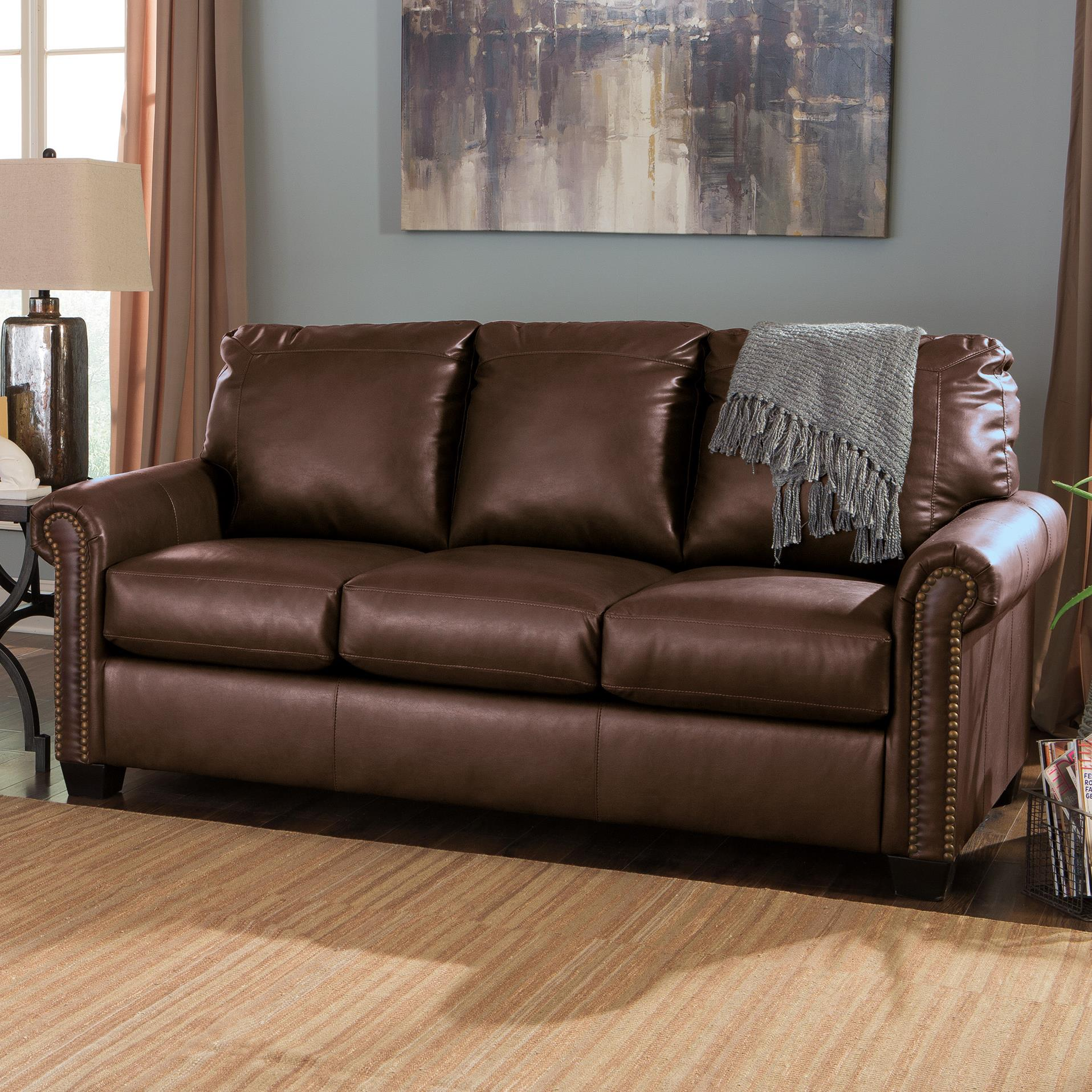 Signature Design by Ashley Lottie DuraBlend® Full Sofa Sleeper - Item Number: 3800036