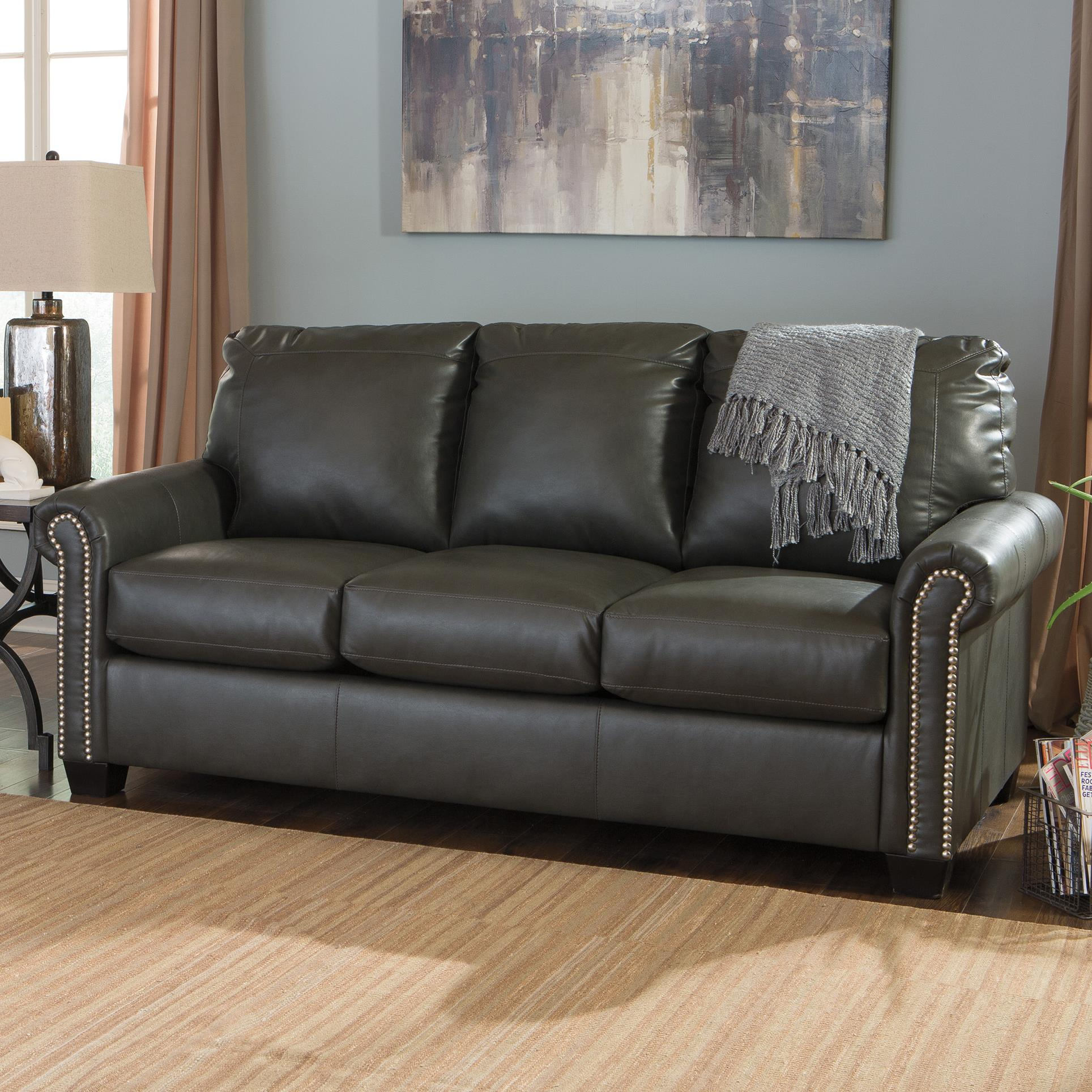 Signature Design By Ashley Lottie DuraBlend® Full Sofa Sleeper   Item  Number: 3800136