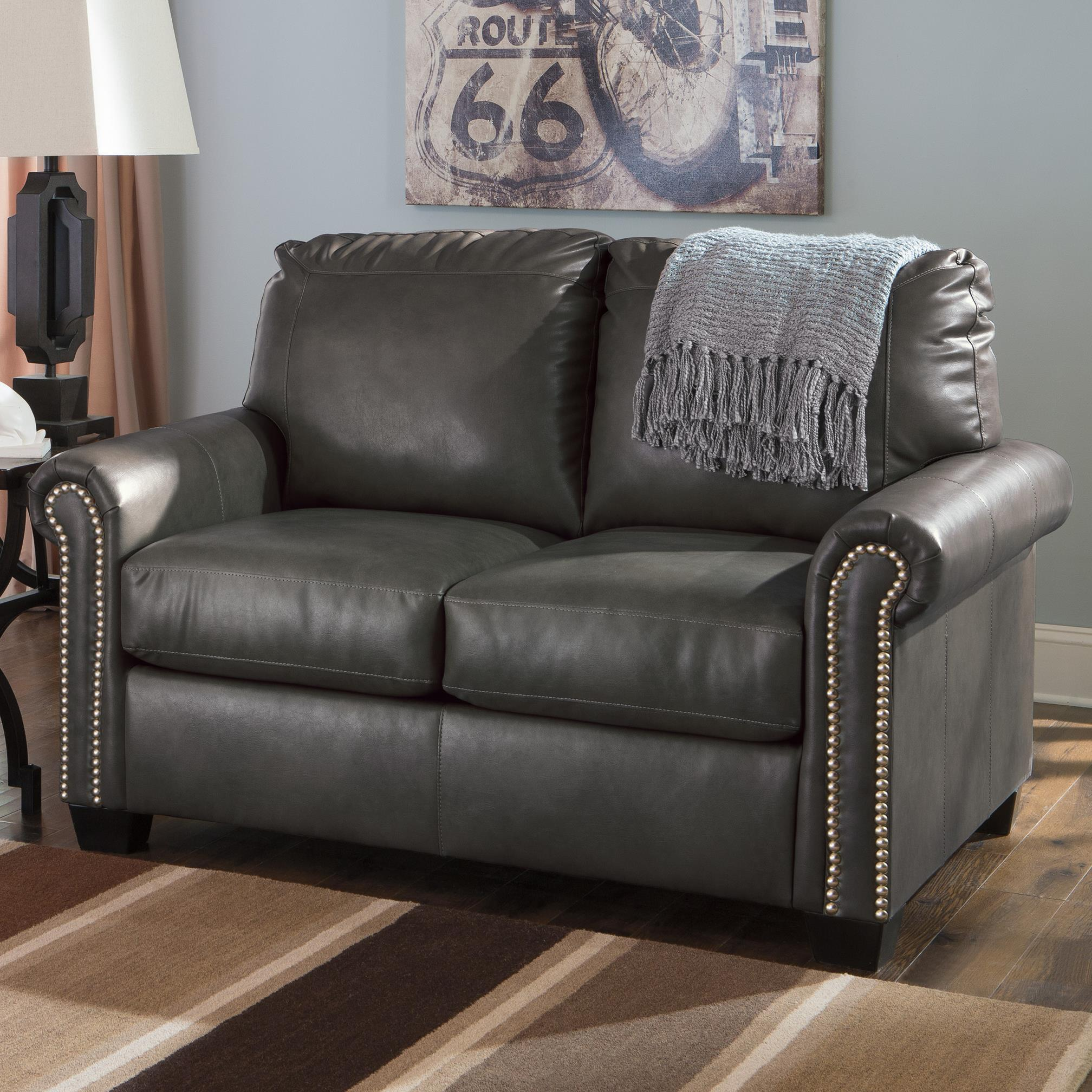 Signature Design by Ashley Lottie DuraBlend® Twin Sofa Sleeper - Item Number: 3800137
