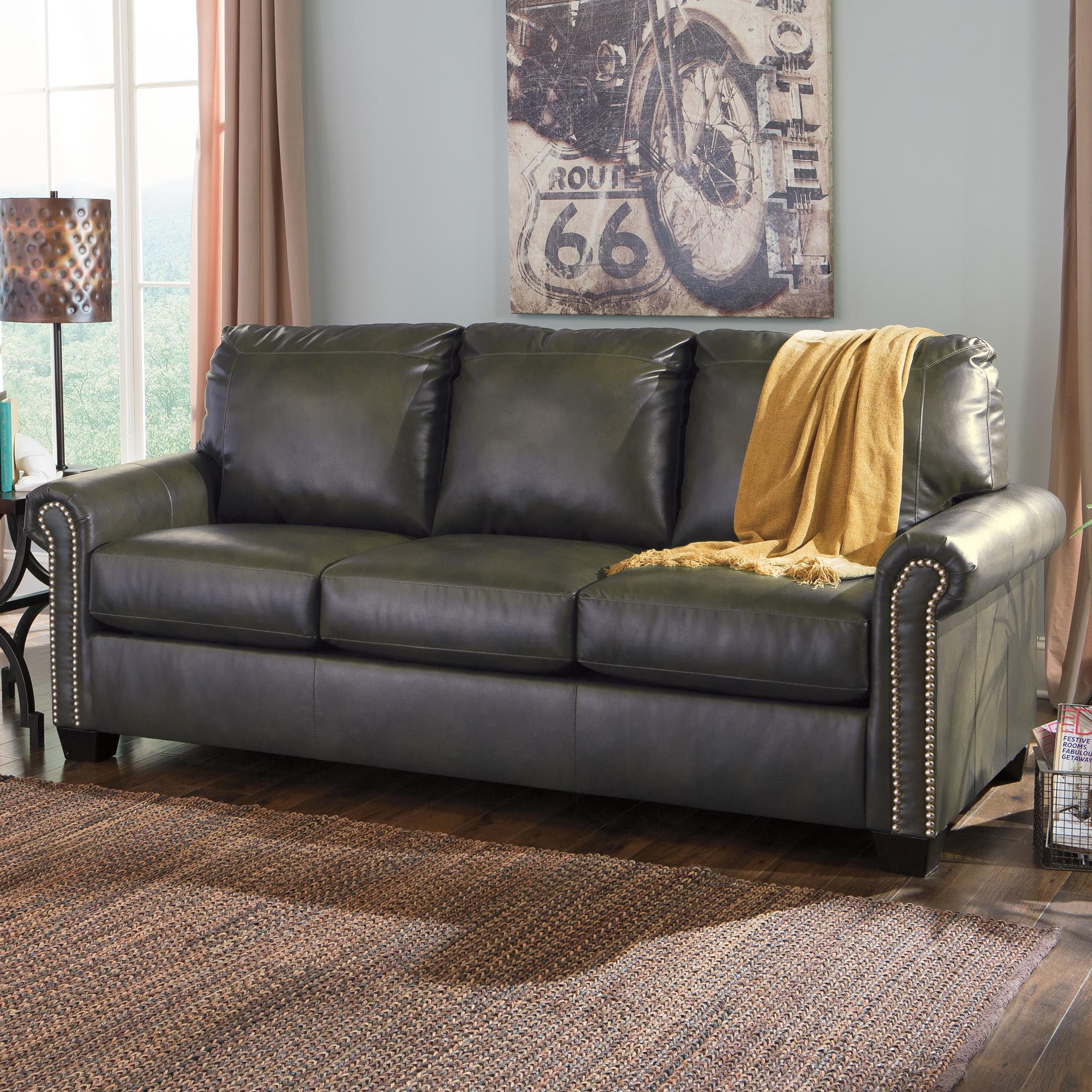 Signature Design by Ashley Lottie DuraBlend® Queen Sofa Sleeper - Item Number: 3800139