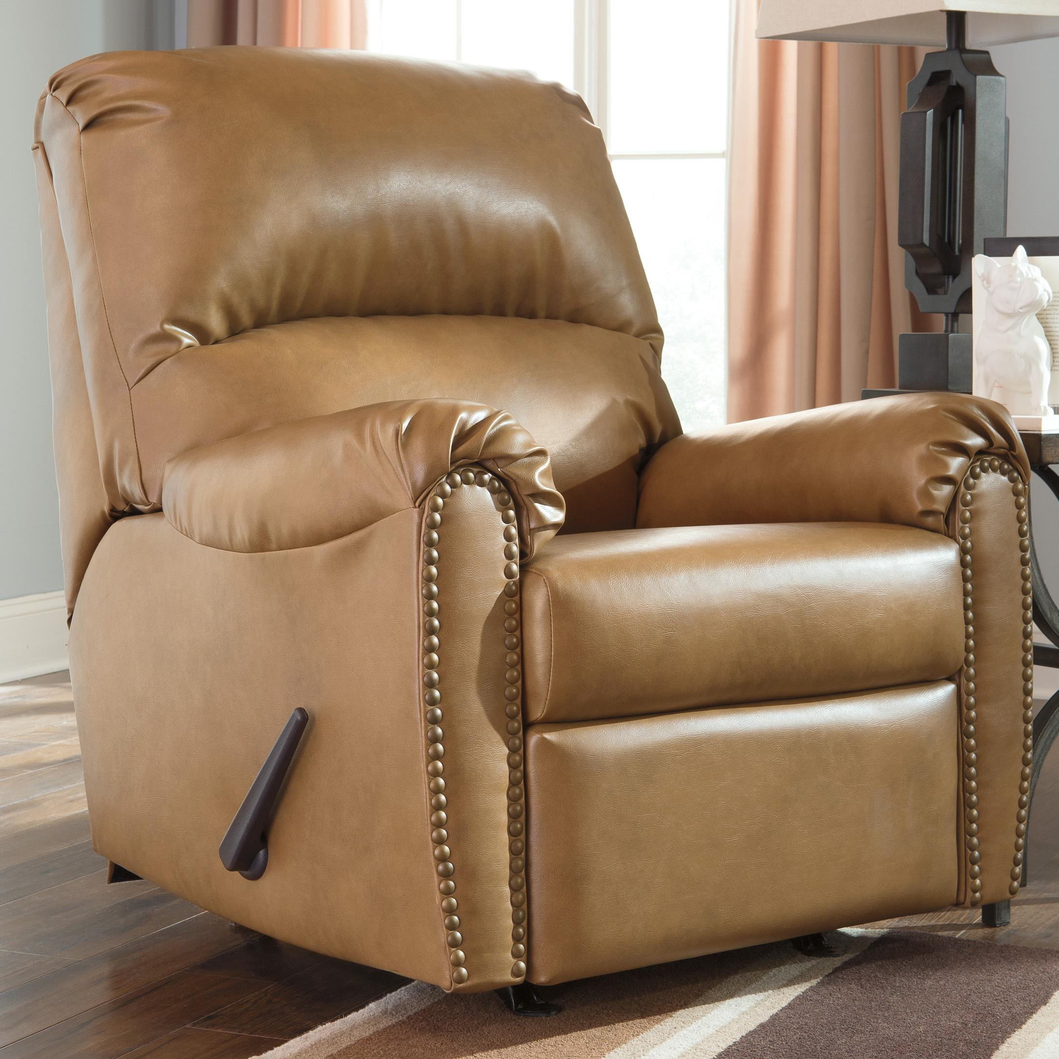 Signature Design by Ashley Lottie DuraBlend® Rocker Recliner - Item Number: 3800225
