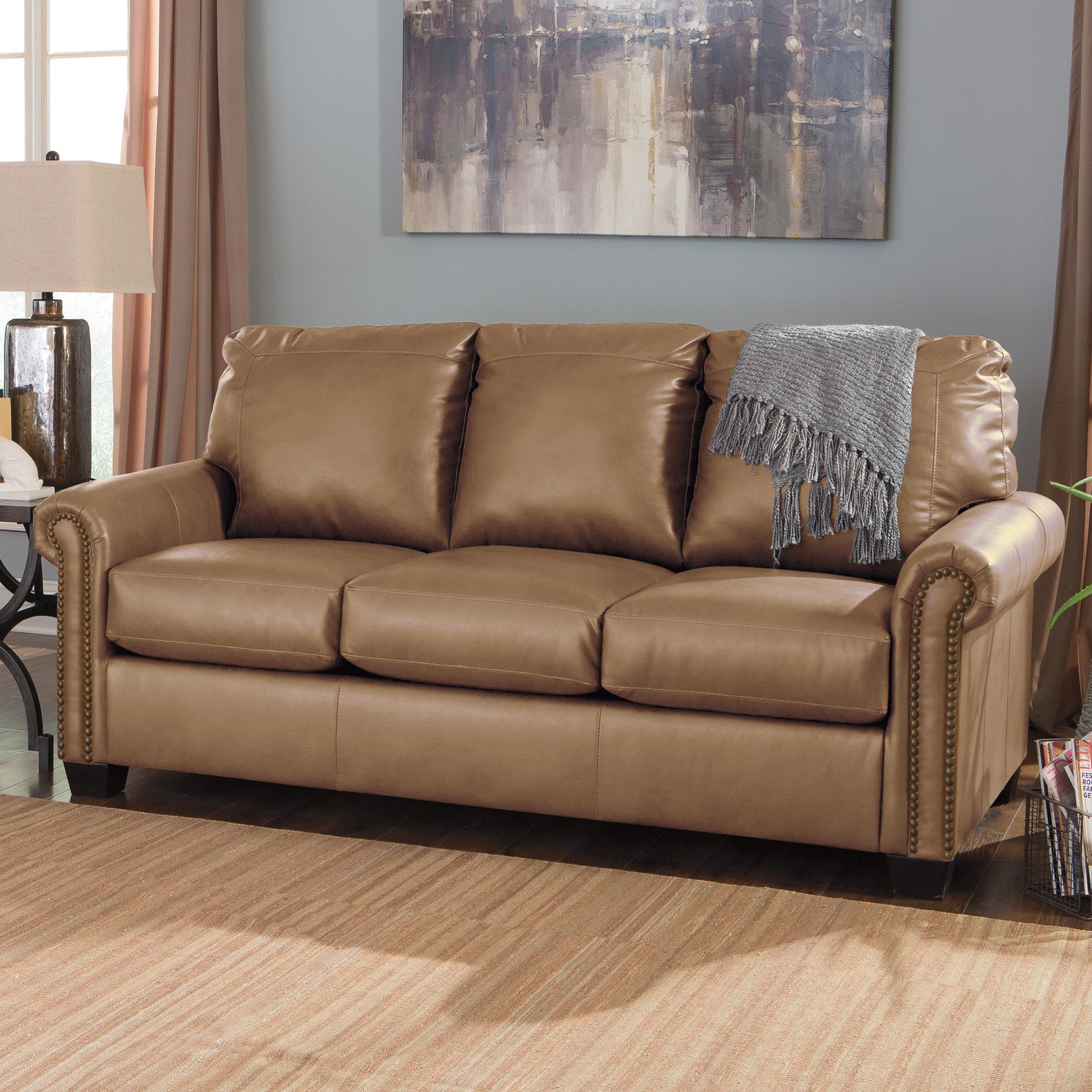 Signature Design by Ashley Lottie DuraBlend® Full Sofa Sleeper - Item Number: 3800236