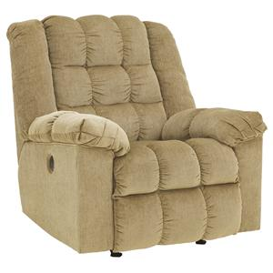 Ashley Signature Design Ludden - Sand Power Rocker Recliner