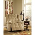 Signature Design by Ashley Ludden - Sand Rocker Recliner