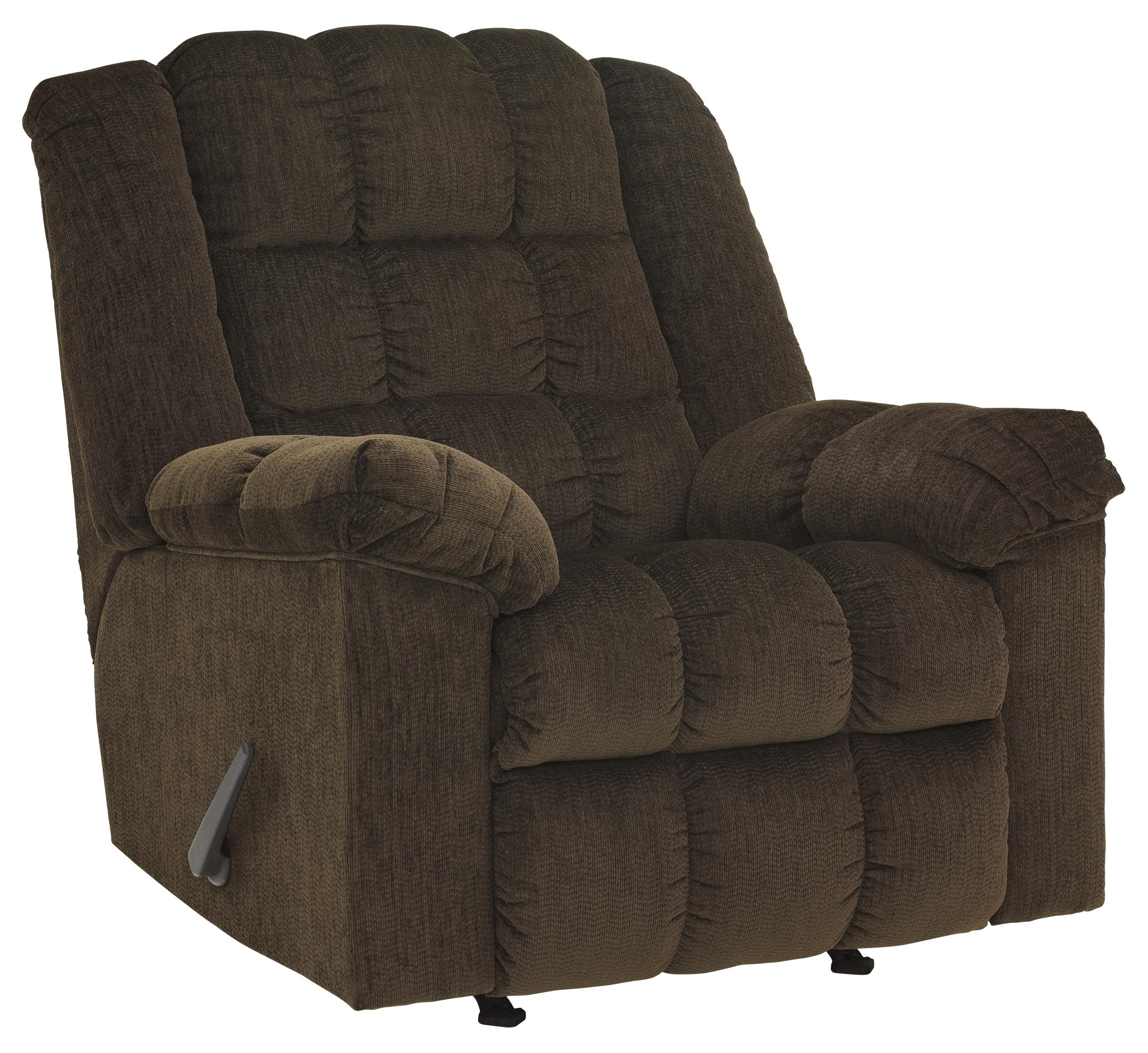 Signature Design by Ashley Ludden - Cocoa Rocker Recliner - Item Number: 8110425
