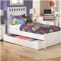 Signature Design by Ashley Lulu Trundle Under Bed Storage - Shown Used For Storage