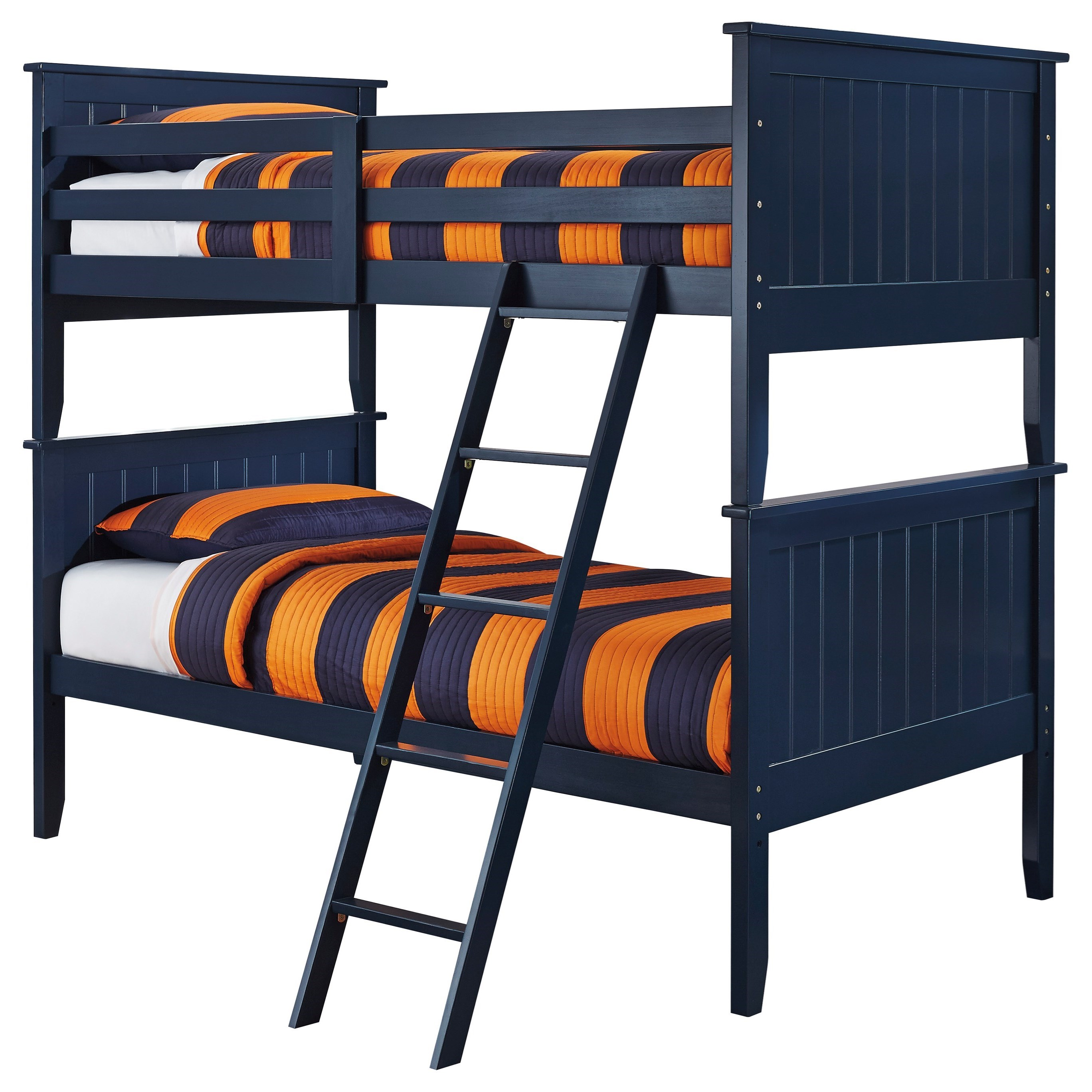 Ashley Signature Design Leo Twin Twin Bunk Bed Dunk Bright