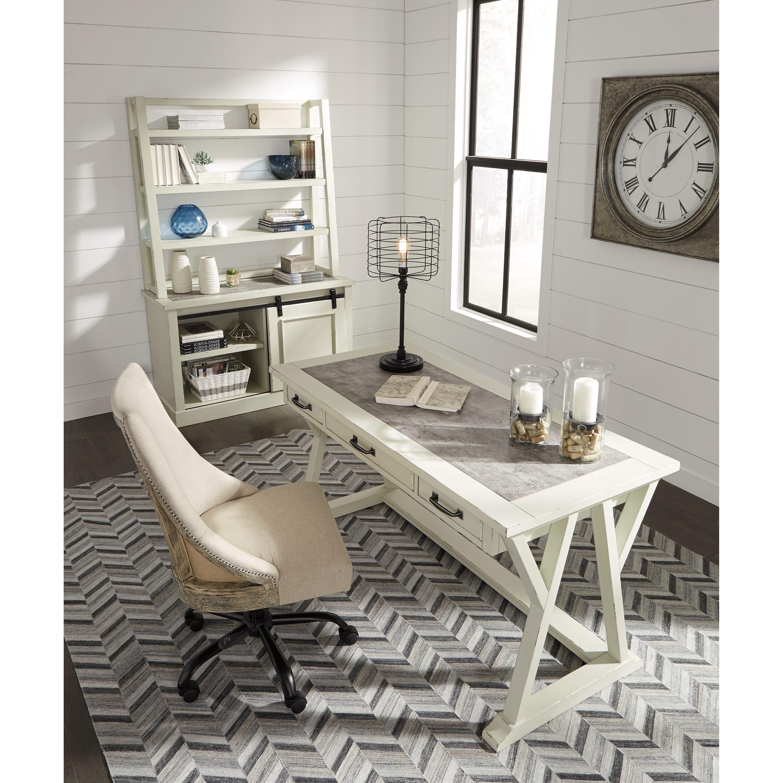 Signature Home Furniture: Ashley Signature Design Jonileene H642-44 Relaxed Vintage