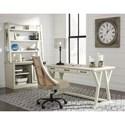 Signature Design by Ashley Jonileene Relaxed Vintage Home Office Large Leg Desk