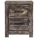 Signature Design by Ashley Lynnton Two Drawer Nightstand - Item Number: B297-92